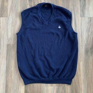 346 Sweater Vest Brooks Brothers Supima Cotton